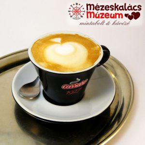 Carraro cappuccino a Mézeskalács Múzeumban