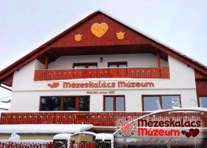 Mézeskalács Múzeum télen