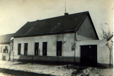 A régi Pettrits ház az Arany János utcában