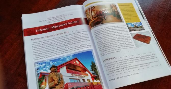 Mézeskalács Múzeum turisztikai könyvben
